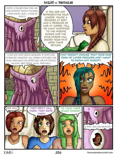 Fairies vs Tentacles Ch. 1-3..