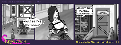 Love Genie Web-Comic Series -