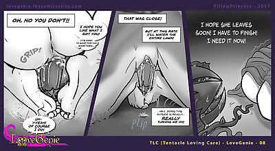 Love Genie Web-Comic Series..