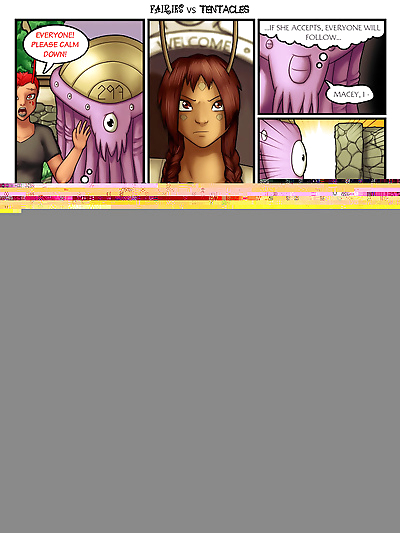 Fairies vs Tentacles Ch. 1-3..