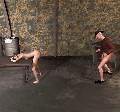 Alptraum freddie 3d porn..