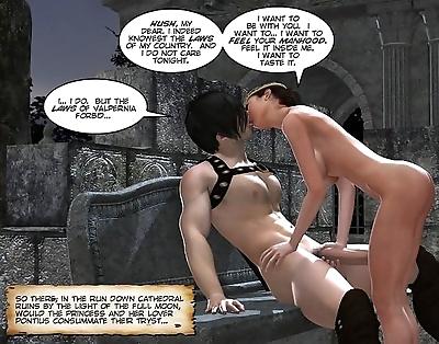 Cartoon sex 3d porn comics..