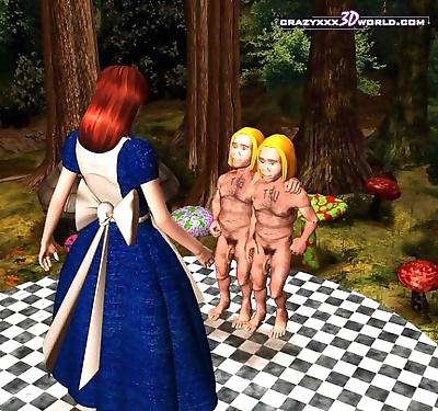 Bisexual midget twins 3d..