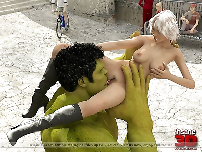 3d sex pictures with monster..