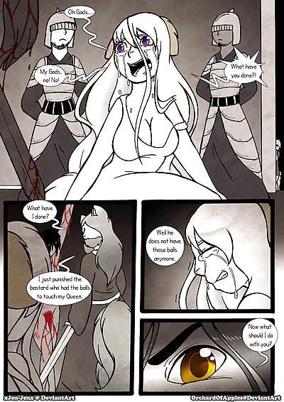 Between Kings and Queens - part 9