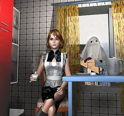 3d sex cartoon story about the flying boy and housewife overtake - part 593