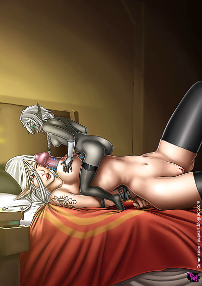 Giantess dickgirl sex - part 2